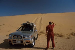 Actually, that dune is MUCH steeper than this picture suggests!