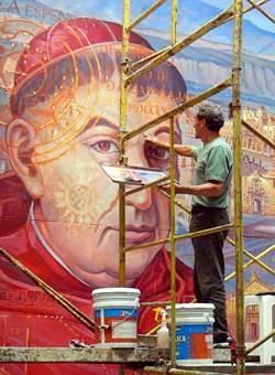 Jorge monroy 39 s mural at guadalajara 39 s hospital civil for Aviso de ocasion mural guadalajara